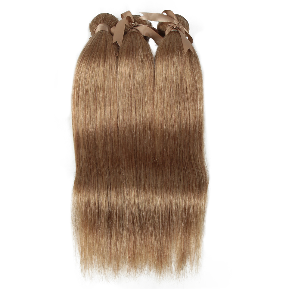 Remy Forte Straight Hair Bundles Blonde Brazilian Hair Weave Bundles Blonde 30 Human Hair Bundles  Remy Hair Weave 1/3/4 Bundles