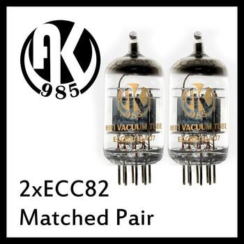 Paire assortie ECC82 ampli à lampes à vide JJ Tesla AK985 Psvane Mullard T WE EH 12AU7