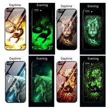 Marvel Venom Luminous Glass For xiaomi mi 9 9 se Mi 8 Lite mix2S 6 A1