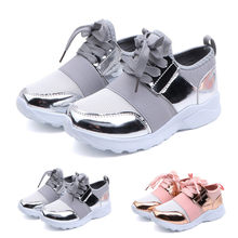Children Fashion Sports Running Shoes Toddler Infant Kids Baby Boys Girls Mesh Casual Sports Running Shoes Sneakers(China)
