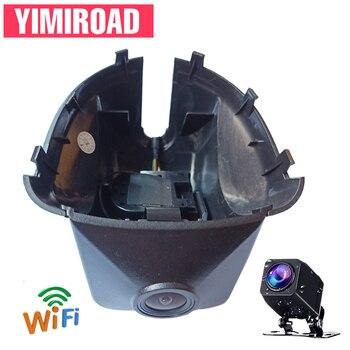 YIMIROAD Novatek 96675 VW6-D WIFI Car DVR Dash Camera For Volkswagen Tiguan Magotan Touran 2011To 2015 Y Auto Recorder Dashcam