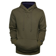 NEGIZBER 2019 Autumn Winter Top Quality Hoodies Men Solid Casual Pullover Sweatshirts Thick Fleece Warm Outwear Mens