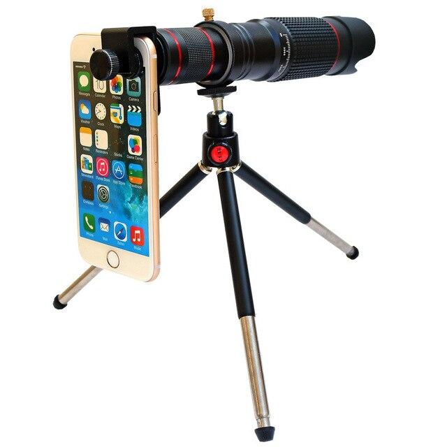Купить высокой четкости 36x мобильный телефон телеобъектив подходит картинки цена