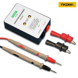 TKDMR gorąca sprzedaż DC 5 1000V Sparkpen kondensator rozładowania pióro + LED światło i dźwięk 4RD pióro rozładowania ochrony nowy w Mierniki rezystancji od Narzędzia na