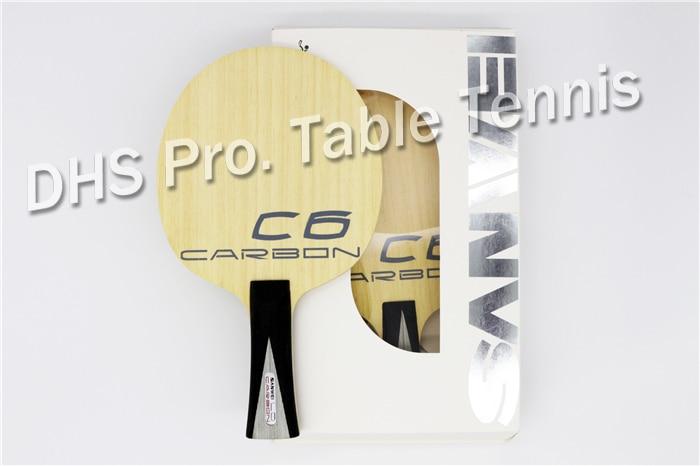 SANWEI C6LD Balsa Carbon Table Tennis Blade/ Ping Pong Blade/ Table Tennis Bat Free Shipping