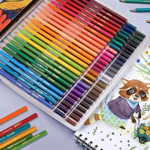 Brutfuner 48/72/120/160/180 Цвет поверхность специальное масло для Цвет карандаши Дерево эскизов Цвет ed карандаш школьные товары для рукоделия
