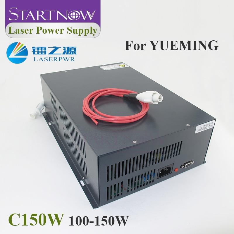 HY-C150 Co2 Laser Source 110V 220V High Voltage PSU 100W 130W 150W Laser Power Supply For Yueming CMA Co2 Laser Cutting Machine