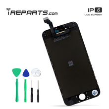 IREPARTS Mobile Phone Parts for iPhone 6 LCD Display Assembly Digitizer Touch Screen + Tools Gift sanka 20pcs for iphone 6 lcd display digitizer touch screen mobile phone parts assembly replacement ecran pantalla lcd tools