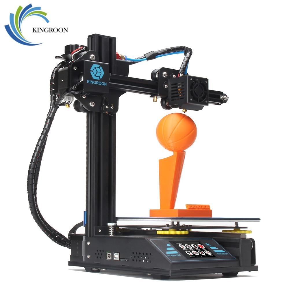 KingRoon BRICOLAGE 3D Imprimante KP3 Amélioré de Haute précision 3D принтер 180*180*180mm Cadre Métallique Rigide Drukarka 3D Tactile Écran LCD Chaude - 6