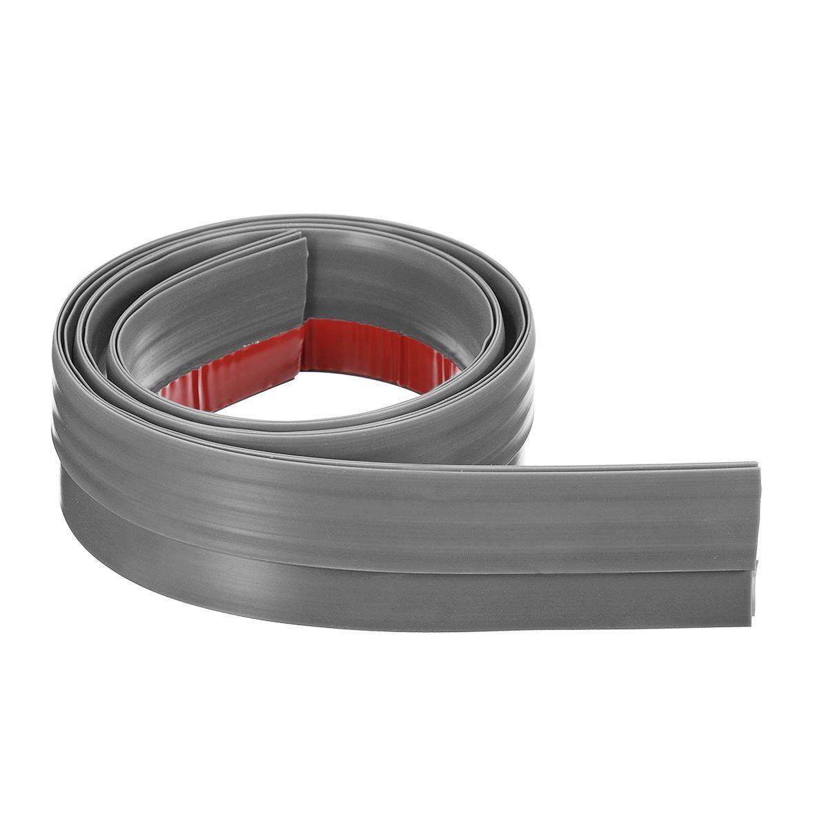 New Rubber Self-adhesive Door Bottom Sealing Strip Bedroom Soundproof Windproof Sealer Guard Stopper Furniture Accessories 5 Col