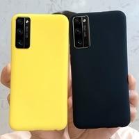 Funda Honor 30 para Huawei Honor 30 Pro, funda de teléfono Original de silicona líquida mate, fundas suaves para Huawei Honor 30 30Pro Plus