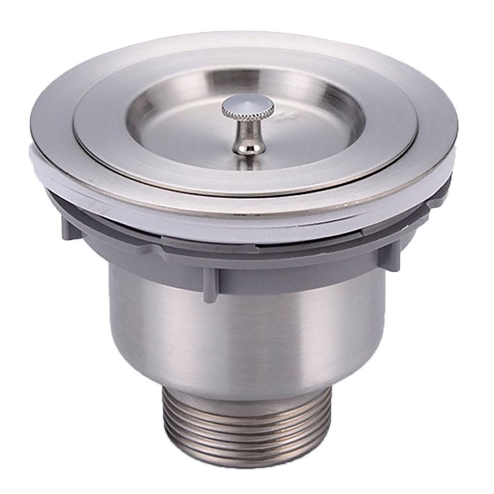 Stainless Steel Prevent Clogging Strainer Drain Basket Lightweight Practical Water Sink Durable