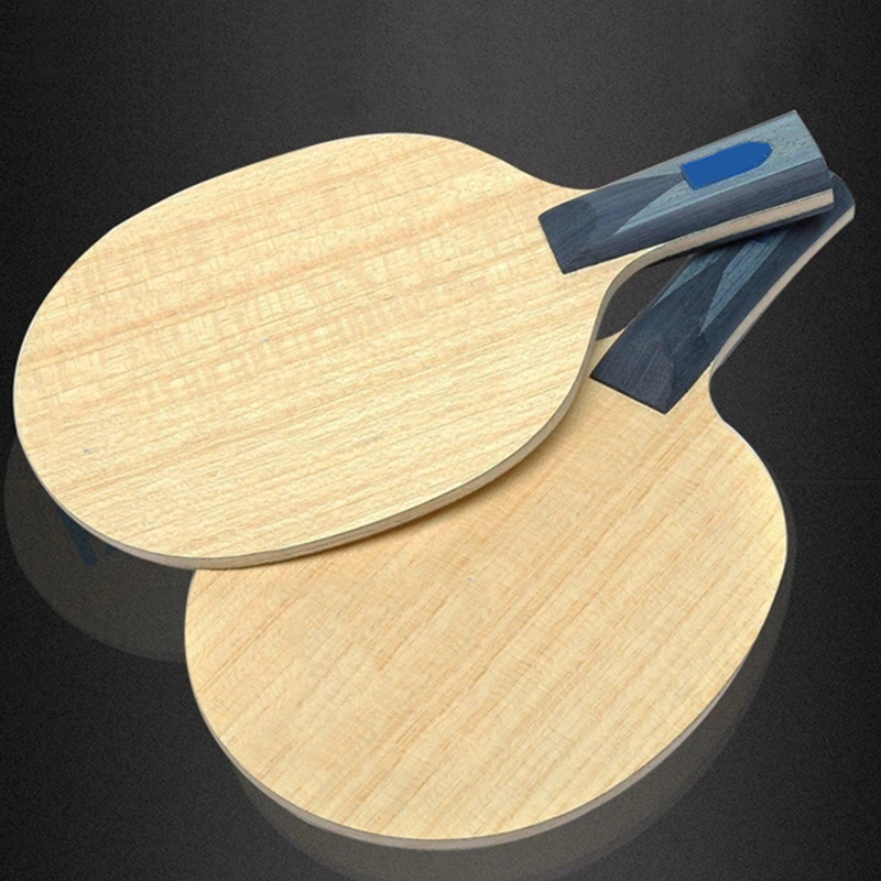 BOER 1Pc Table Tennis Wooden Paddle ALC Carbon Ping Pong Bat Fast Attack Loop Racket 5.8mm Thickness Paddle
