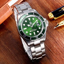 REGINALD Top Brand Watch Men Green