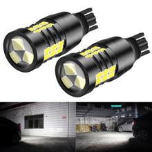 2pcs W16W T15 T16 LED Bulb Canbus NO OBC Error Free 12V 921 912 Car Backup Reserve Lights Bulb Tail Lamp 3030 LED Xenon White