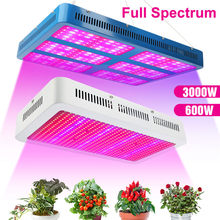 Lvjing cresce a luz led 200w 600 3000 luzes do painel de espectro completo phyto lâmpada para as plantas mudas sementes estufa interior tenda caixa