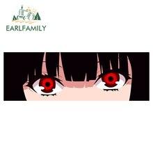 Earlfamily 13Cm X 4.6Cm Voor Yumeko Anime Decal Grappige Auto Stickers Waterdicht Krasbestendig Motorfiets Voorruit Rv decoratie