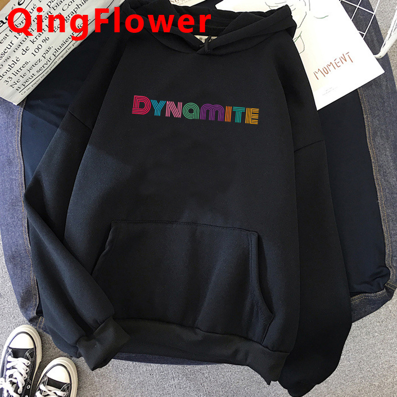 Permalink to Korean Style Harajuku Dynamite Kpop Winter Warm Hoodies Women Ullzang Streetwear Graphic Sweatshirt K-pop Oversized Hoody Female