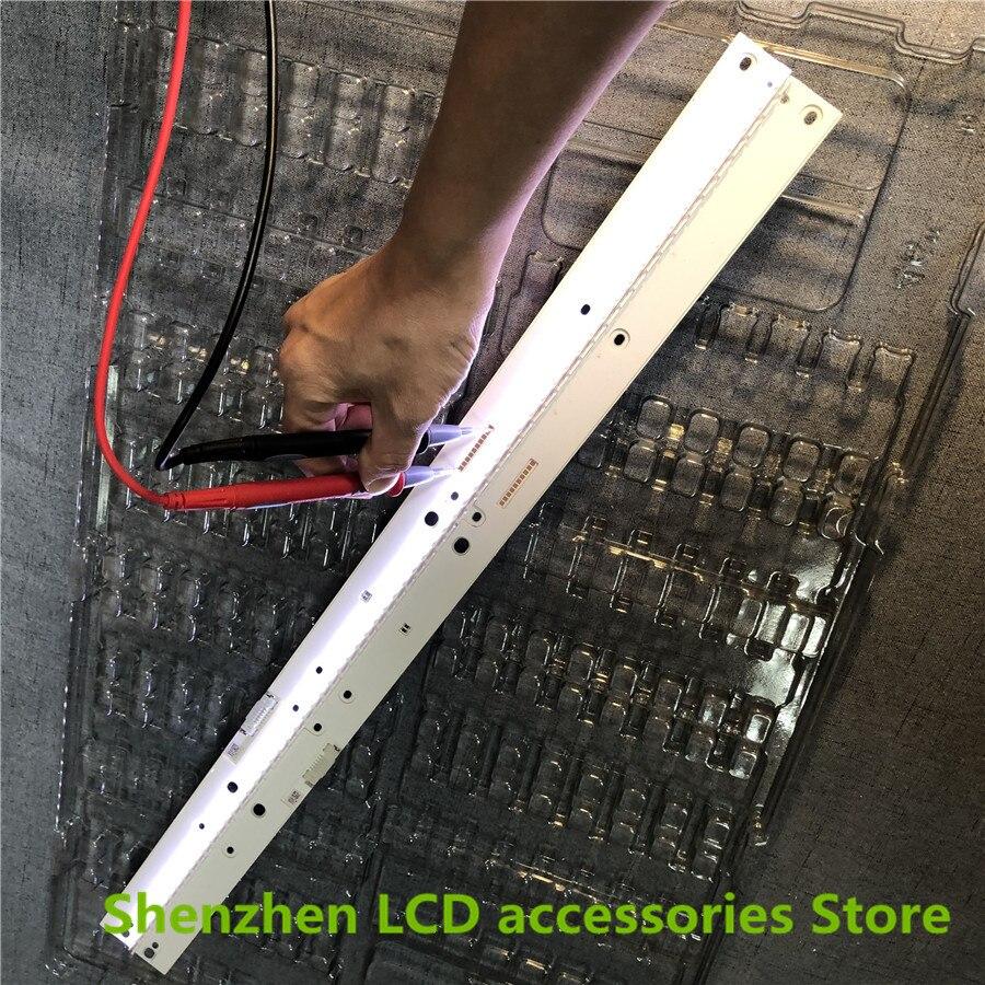 New 5set=10PCS LED Strip For Samsung UN55MU7000FXZA UE55MU6400UXZT BN96-39595A 39596A V6ER_550SMA_LED66_R2 BN96-39601A 39602A