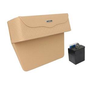 Car Seat Gap Storage Box Cup Holder Phone Holder Auto Car Organizer Floral Seat Catcher Gap Filler