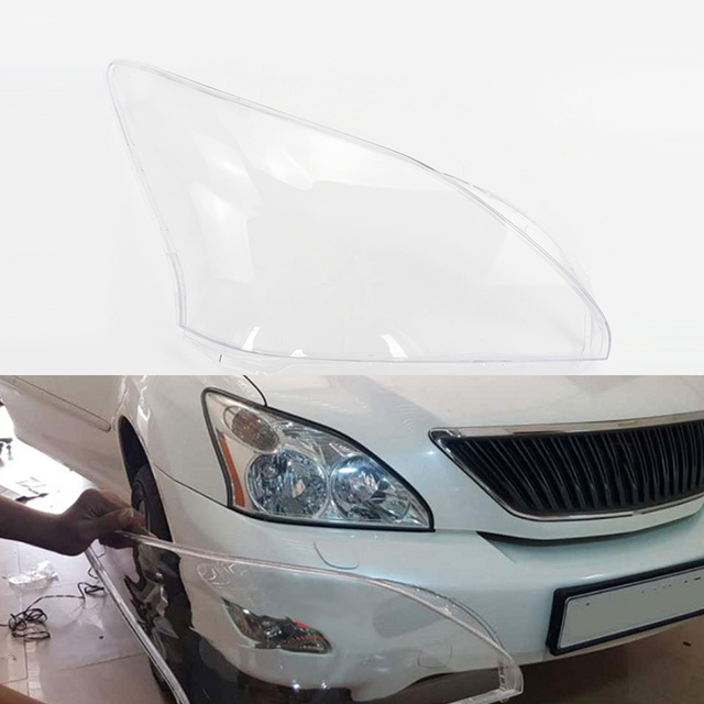 Car Headlamp Lens  For Lexus RX300 RX330 2003 2004 2005 2006 2007 2008  Car  Replacement   Auto Shell Cover