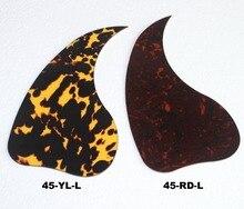 2 шт левосторонняя Акустическая гитара накладка, целлулоидный материал, толщина 1,2 мм