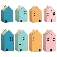 Творческий дом Форма деревянная подставка для ручек и карандашей