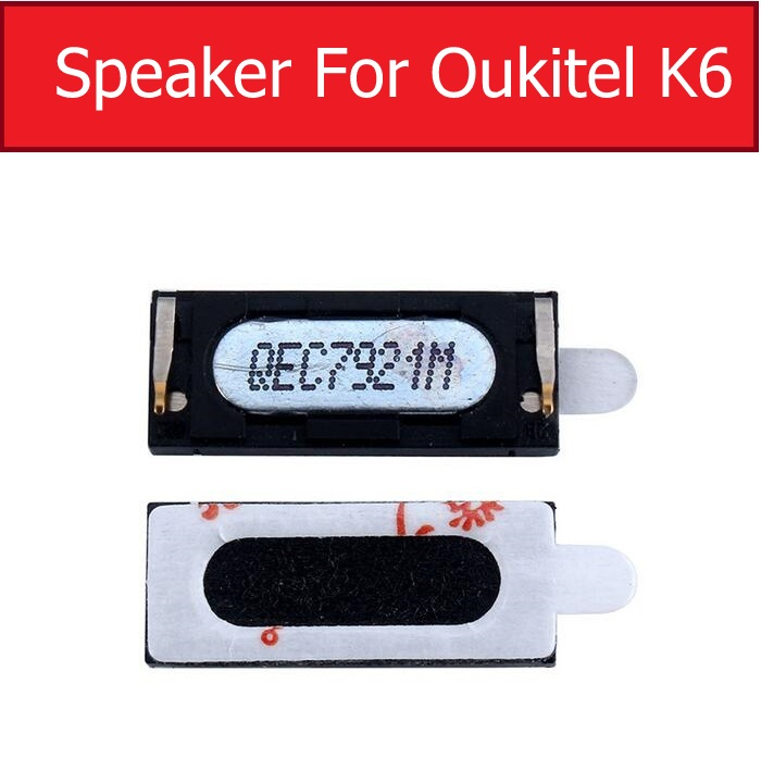 Earpiece Speaker For OUKITEL K6 K10 Ear Speaker Sound Earphone Ear Piece Flex Ribbon Cable Phone Replacement Repair Parts