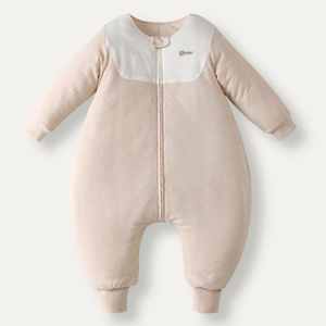 Цветное хлопковое стеганое одеяло, спальный мешок на молнии, детский зимний двусторонний утепленный спальный мешок с мультипликационным п...