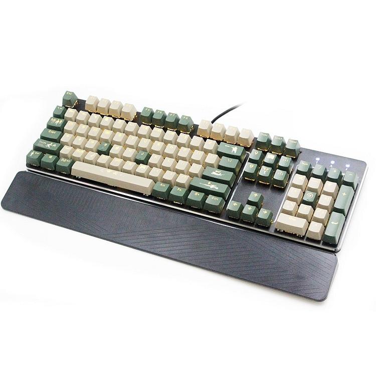 RK935 Camouflage Mechanical Keyboard Optical Axis Mode Mechanical Keyboard Cafe Internet Cafe Gaming Keyboard Amazon EBay