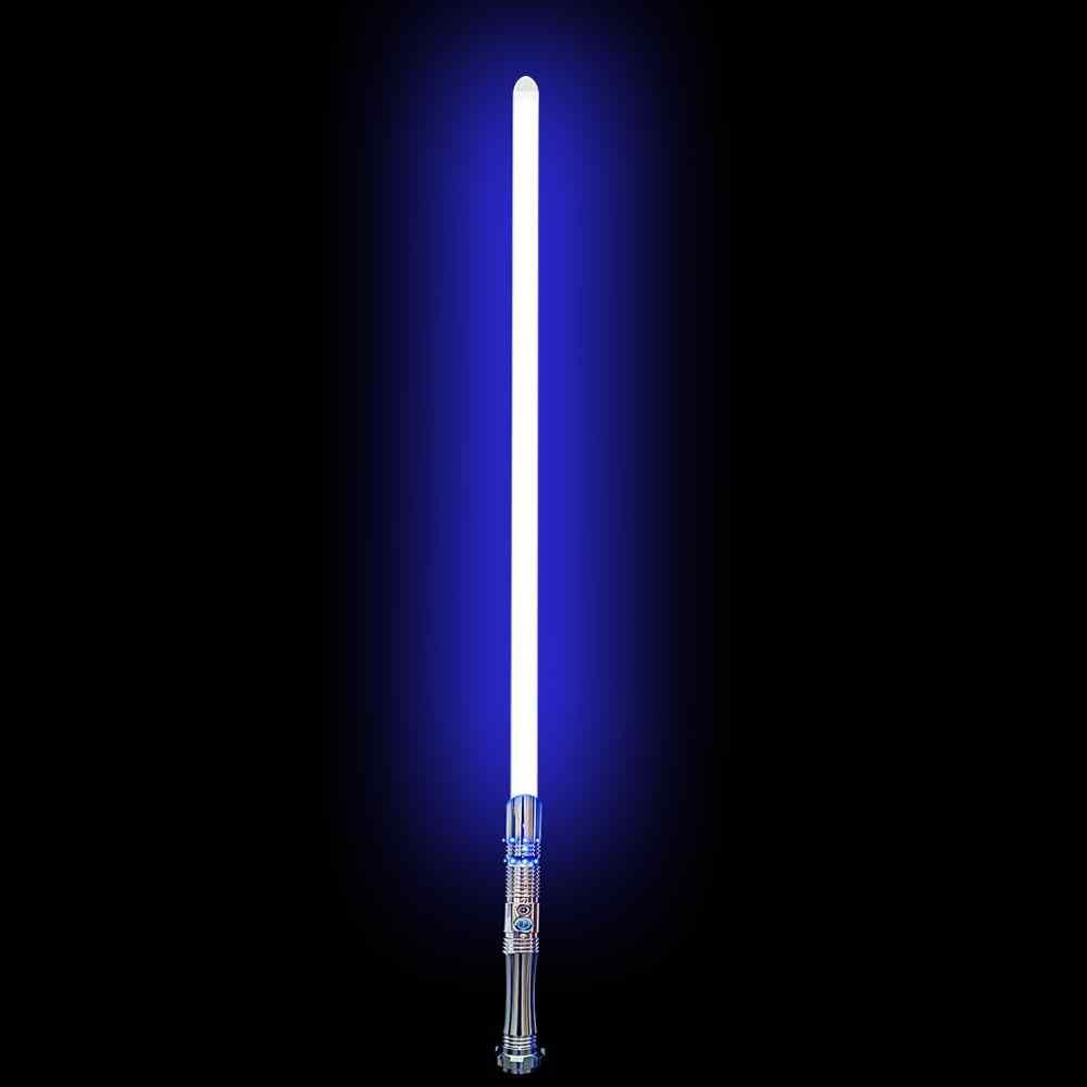 Txqsaber Elektroplating RGB Lightsaber Flash Clash 1 Inci Duel Blade Perubahan Warna 6 Set SoundFont Volume Adjustment-TS014