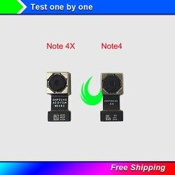 Oryginał dla Xiaomi Redmi Note4 uwaga 4X Snapdragon 625 tylny duży aparat z tyłu moduł Flex Cable dla Note 4 przedni mały aparat