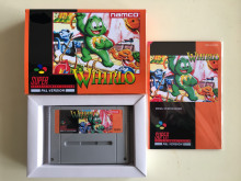 16Bit Games ** WHIRLO ( PAL Version!! Box+Manual+Cartridge!! )