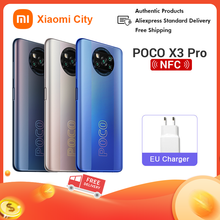 Poco X3 Pro 8GB 256GB 6GB 128GB Globale Version Smartphone Xiaomi Smartphone Handy Xiaomi