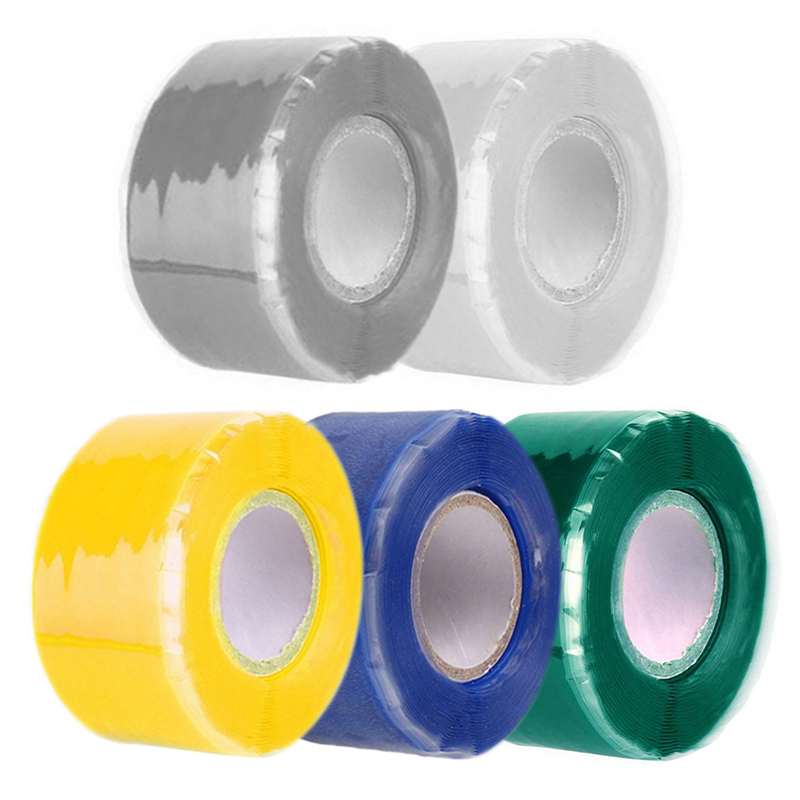 3×Self-Fusing Seal Repair Emergency Rescue Silicone Rubber Hose Tape Water Pipes