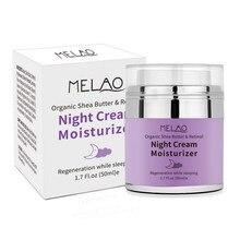 Organiczny Retinol krem na noc nawilżający odżywczy hialuronowy przeciwzmarszczkowy pielęgnacja skóry 50G Kg66