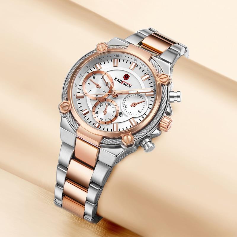 836 Ladies Wristwatches TOP Brand Luxury Business Women Watches 3ATM New Fashion Female Clock Steel Bracelet Relogio Feminno