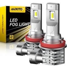 2x canbus h8 h11 h16jp h10 lâmpada led luzes de nevoeiro nenhum erro 2000lm 6000k branco 3000k ouro drl diurna carro lâmpada auto 12v
