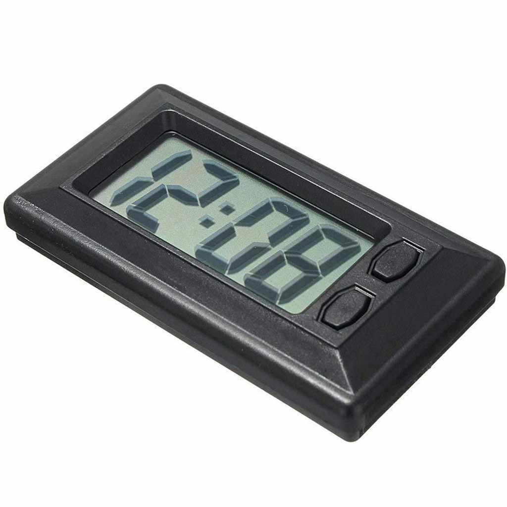 Ultra-fino lcd display digital dashboard relógio com calendário dashboard relógio sala de estar escritório decoração para casa novo relógio