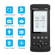 Starten CR619 OBD2 Scanner automotivo Professionelle Motor ABS SRS Airbag Code reader scan Auto Diagnose Werkzeug OBD 2 Auto Scanner