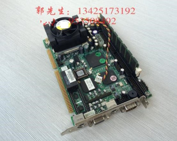 100% high quality test         Industrial control motherboard ROBO-605 half-length industrial motherboard to send CPU memory fan