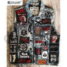 Рок тяжелый металл группа патч для одежды Diy Панк вышитые Швейные железные нашивки аппликация термонаклейки для джинсовой куртки