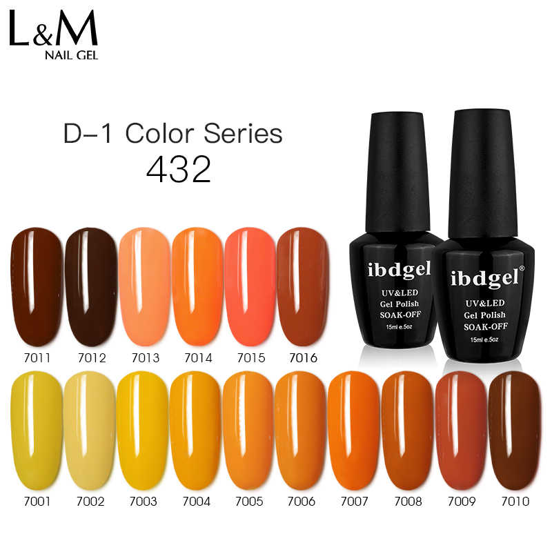 Ibdgel Uv Kleur Gel Polish 15Ml Manicure Nail Tool Gellak Semi-Permanente Nagellak Gel Varbish Goedkope Nail gel Polish
