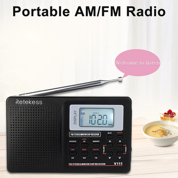 Полнодиапазонный радиоприемник RETEKESS V111 2