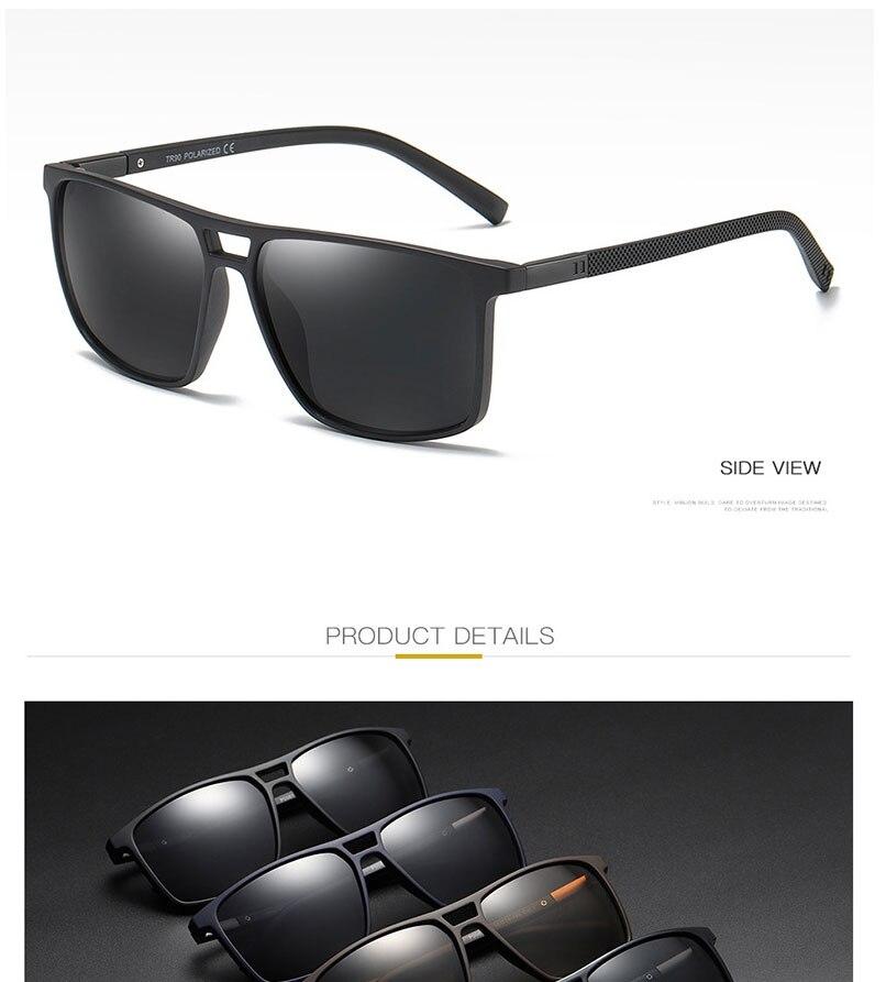 Simprect óculos de sol polarizado masculino, óculos
