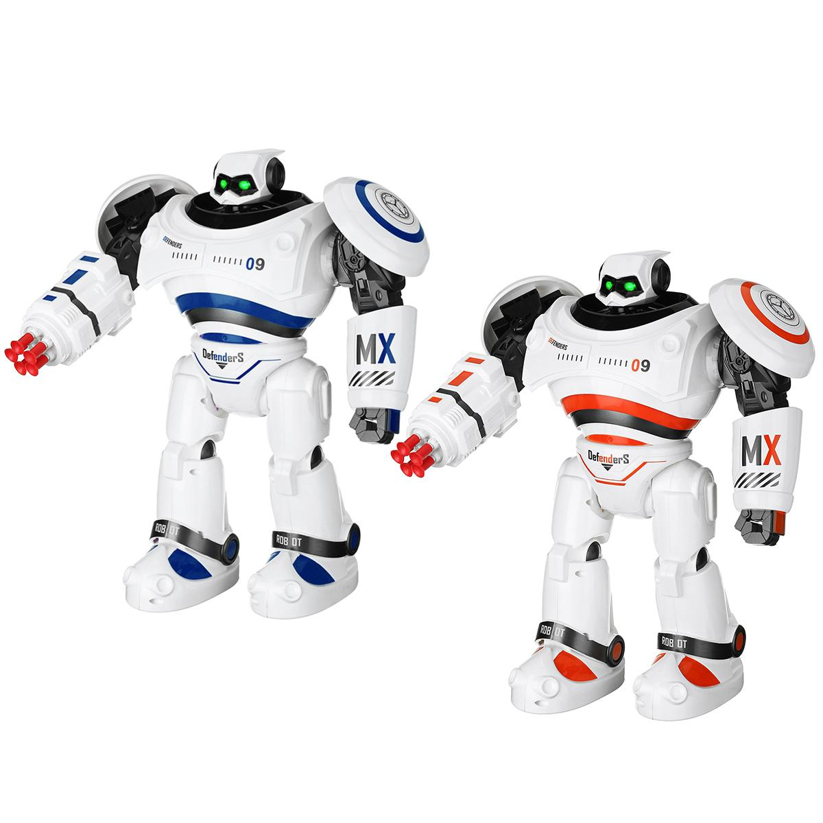 AD Polices Files Programmable Combat Robot with Remote Control for Kids 3