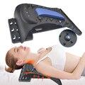 Массажер растягивающийся для шеи и спины, расслабляющий массажер для растяжки шейного отдела позвоночника, опора для релаксации позвоночн...