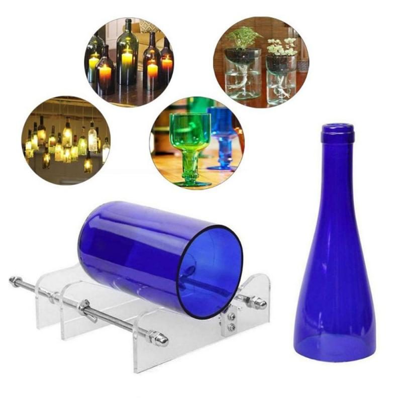 1 шт. Профессиональные длинные стеклянные бутылки резак машина Режущий инструмент для бутылок вина безопасность простота в использовании ...