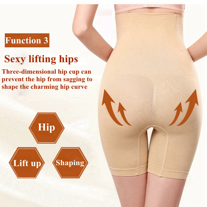 Tummy Shaper Tight Slimming Underwear Butt Lifter Body Shapewear Women Plus Size Hight Waist Firm Control Panties Sexy Lingerie in Control Panties from Underwear Sleepwears