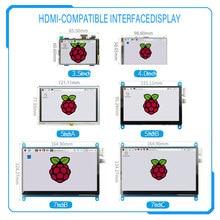 [Série] 3.5 polegada/4 polegada/5 polegada/7 polegada raspberry pi 4th geração resistive/tela de toque capacitivo